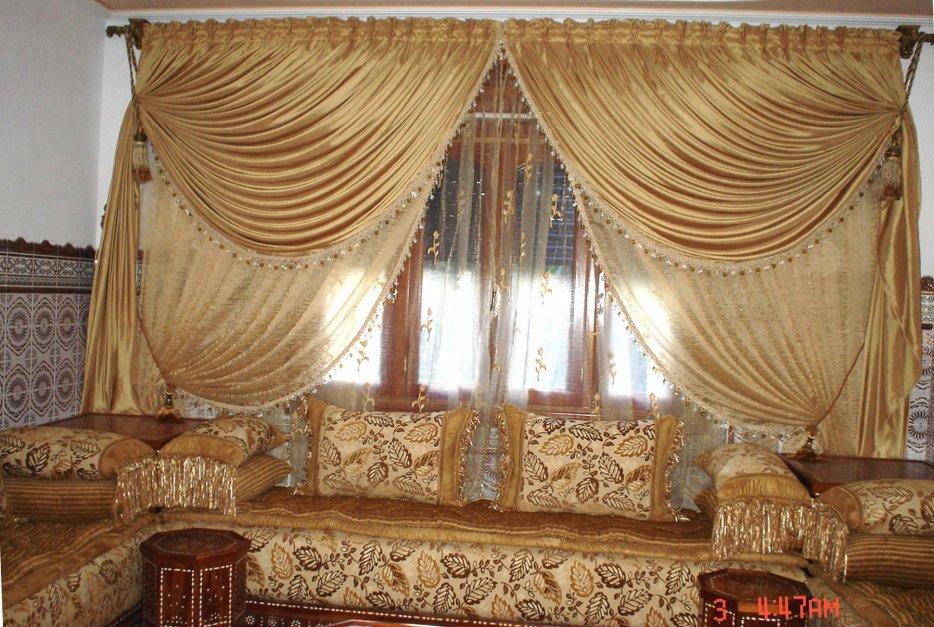 Rideaux Modernes Pour Salon Marocain – Idées d\'images à la maison
